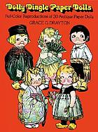 Dolly Dingle paper dolls : full color reproductions of 30 antique paper dolls