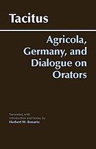 Agricola, Germany, Dialogue on orators
