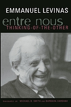 Entre nous : on thinking-of-the-other