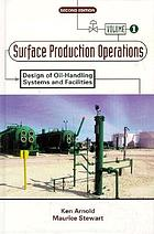 Design of oil-handling systems and facilities