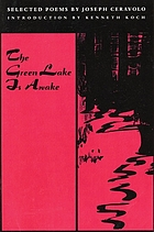 The green lake is awake : selected poems
