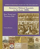 America's political scandals in the late 1800s : Boss Tweed and Tammany Hall