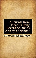 A journal from Japan, a daily record of life as seen by a scientist