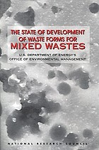 The state of development of waste forms for mixed wastes : U.S. Department of Energy's Office of Environmental Management