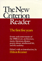 The New criterion reader : the first five years