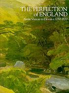 The perfection of England : artist visitors to Devon c.1750-1870