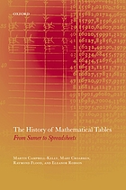 The history of mathematical tables : from Sumer to spreadsheets
