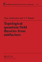 Topological quantum field theories from subfactors