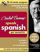 Speak Spanish get started kit