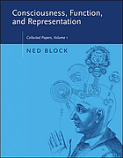 Consciousness, function, and representation