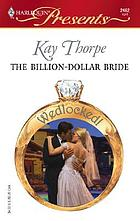 The billion-dollar bride