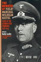 The memoirs of Field-Marshal Keitel