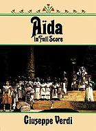 Aïda : opera in four acts