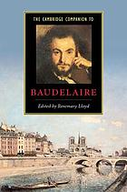The Cambridge companion to Baudelaire