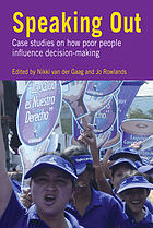 Speaking out : women's economic empowerment in South Asia