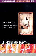 The Norton anthology of modern and contemporary poetryThe Norton anthology of modern and contemporary poetry : v. 2. Contemporary poetryContemporary poetryThe Norton anthology of modern and contemporary poetry