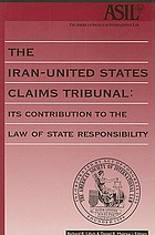 The Iran-United States claims tribunal, 1981-1983