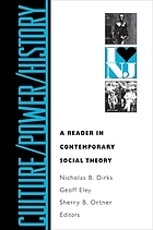 Culture/power/history : a reader in contemporary social theory
