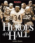 Sporting news books presents pro football's heroes of the Hall