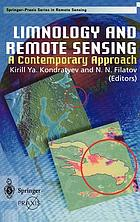Limnology and remote sensing : a contemporary approach