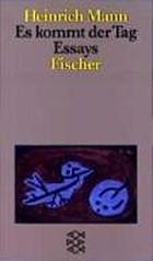 Es kommt der Tag : deutsches Lesebuch