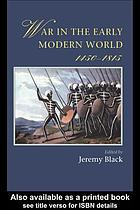 War in the early modern world