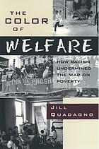 The color of welfare : how racism undermined the war on poverty