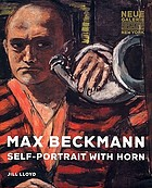 Max Beckmann : self-portrait with horn