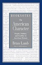 Booknotes : on American character