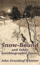 Snow-bound : and other poems