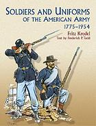 Soldiers of the American Army, 1775-1954