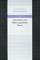 Externalities and public expenditure theory