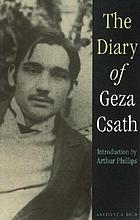 The diary Of Geza Csath