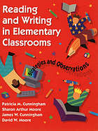 Reading in elementary classrooms : strategies and observations