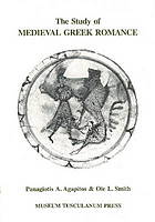 The study of medieval Greek romance : a reassessment of recent work
