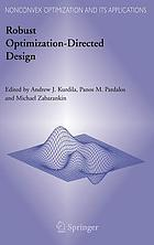 Robust optimization-directed design