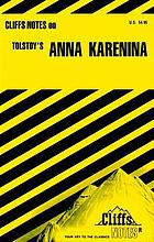 Anna Karenina : notes