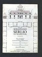 Sebastiano Serlio on architecture