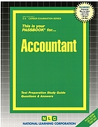 This is your passbook for accountant : test preparation study guide, questions & answers
