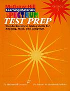 Spectrum test prep-- test preparation for reading, language, math