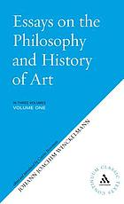 Essay on the philosophy and history of art