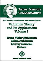 Valuation theory and its applications