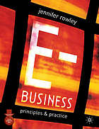 E-business : principles and practice