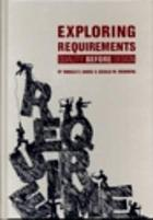 Exploring requirements : quality before design