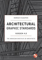 Ramsey/Sleeper architectural graphic standards version 4.0