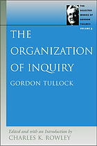 The organization of inquiry