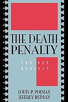 The death penalty : for and against