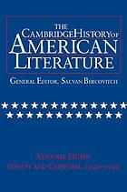 The Cambridge history of American literatureThe Cambridge history of American literature. 1940-1995