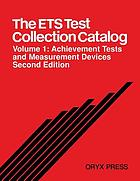The ETS Test Collection catalog