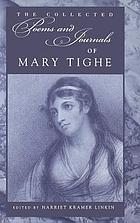 The collected poems and journals of Mary Tighe
